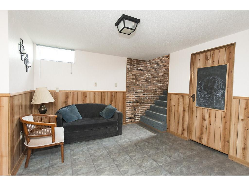 Lower level common area - this home is deceptively large and a great find!