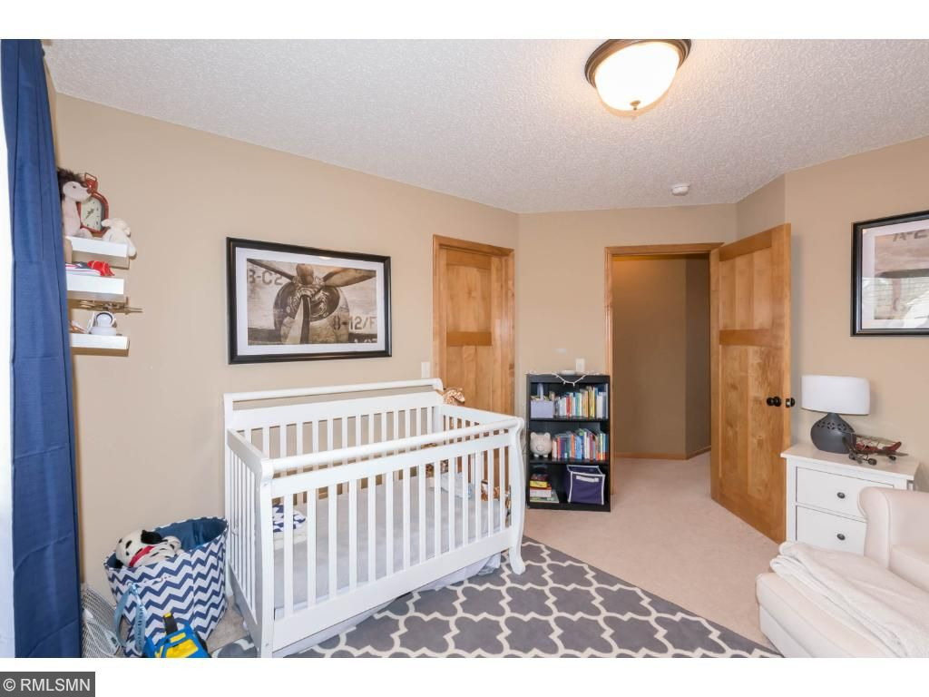 Bedroom 3 used as nursery, yet very spacious room.  Nice-sized closet, carpeted and neutrally decorated.