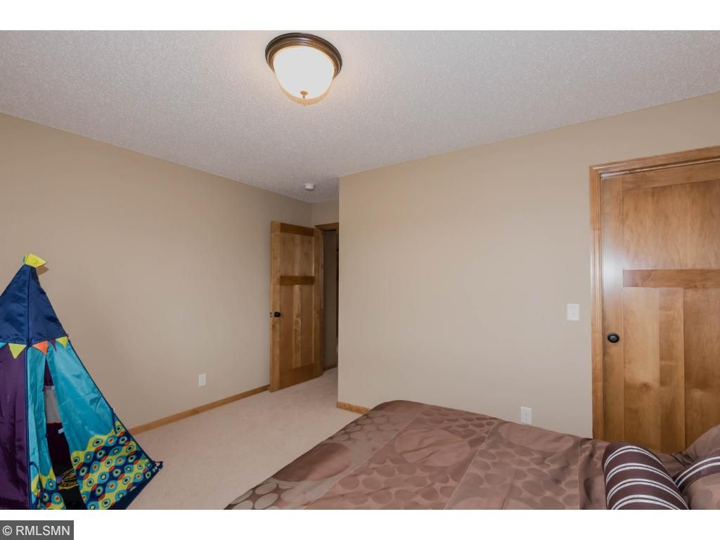 Bedroom 4 is currently used as a play area.  Lots of space in this carpeted room with roomy closet.
