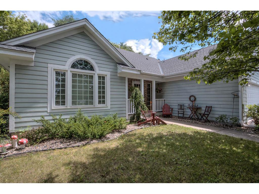 Come home to this multi-level 4 BR home nestled along a quiet creek and wooded back yard - right in the heart of Waconia!