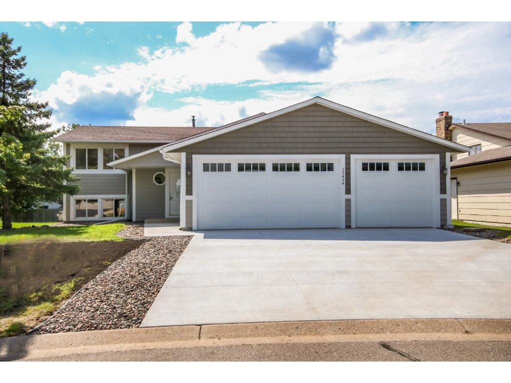 Completely NEW, Maintenance Free Exterior with LP Smart Siding! NEW Concrete Driveway & Walkway!