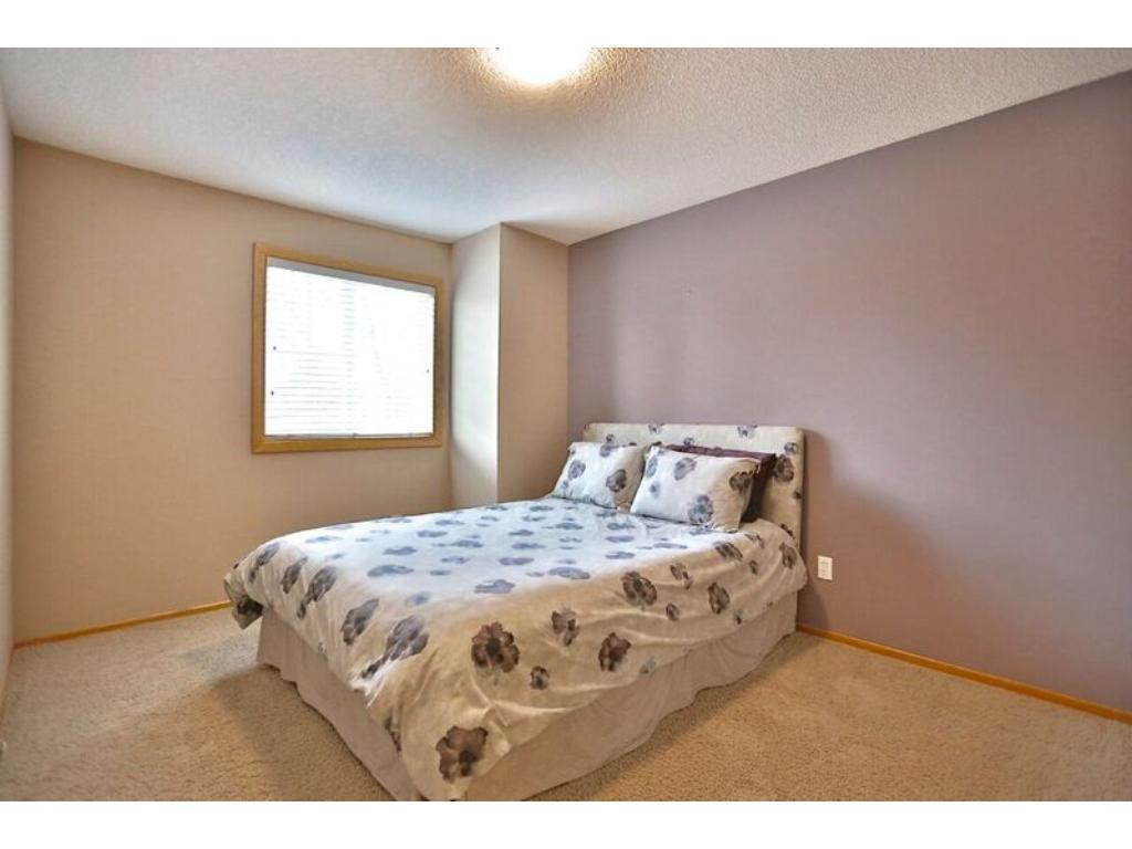 1 of 2 upstairs bedrooms