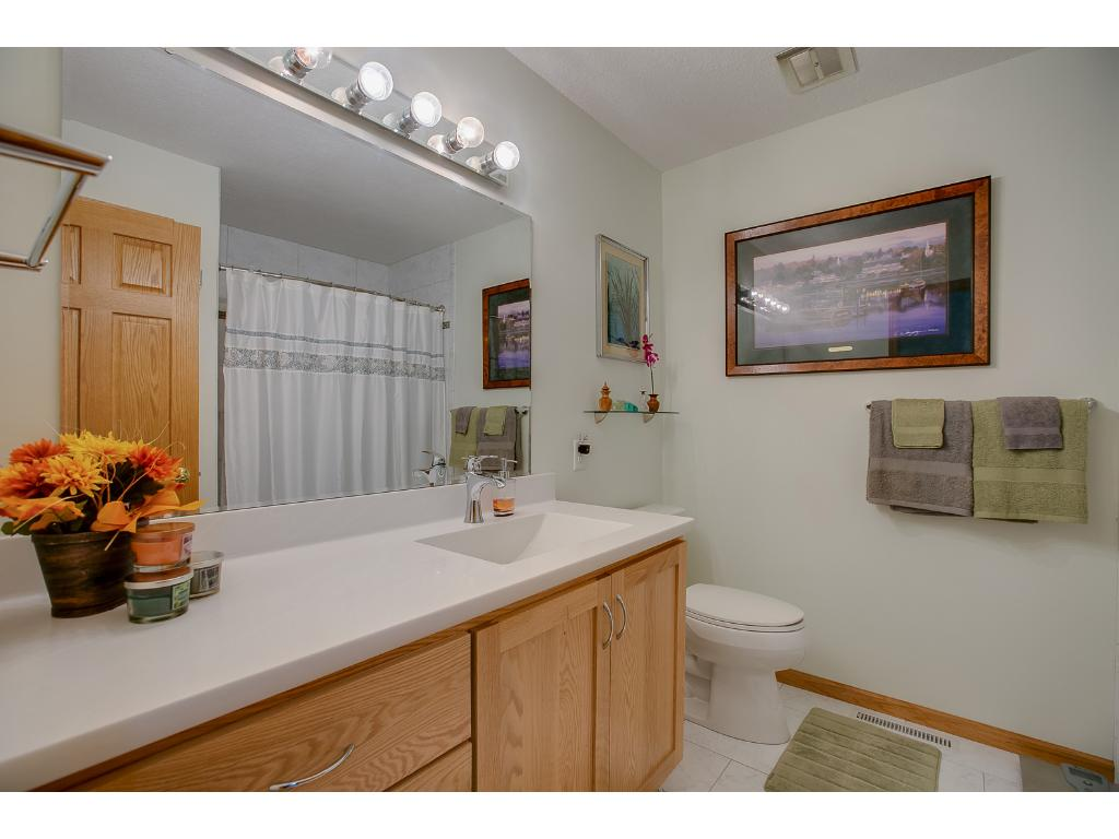 This home offers a spacious second bath on the main level for children/guest use.