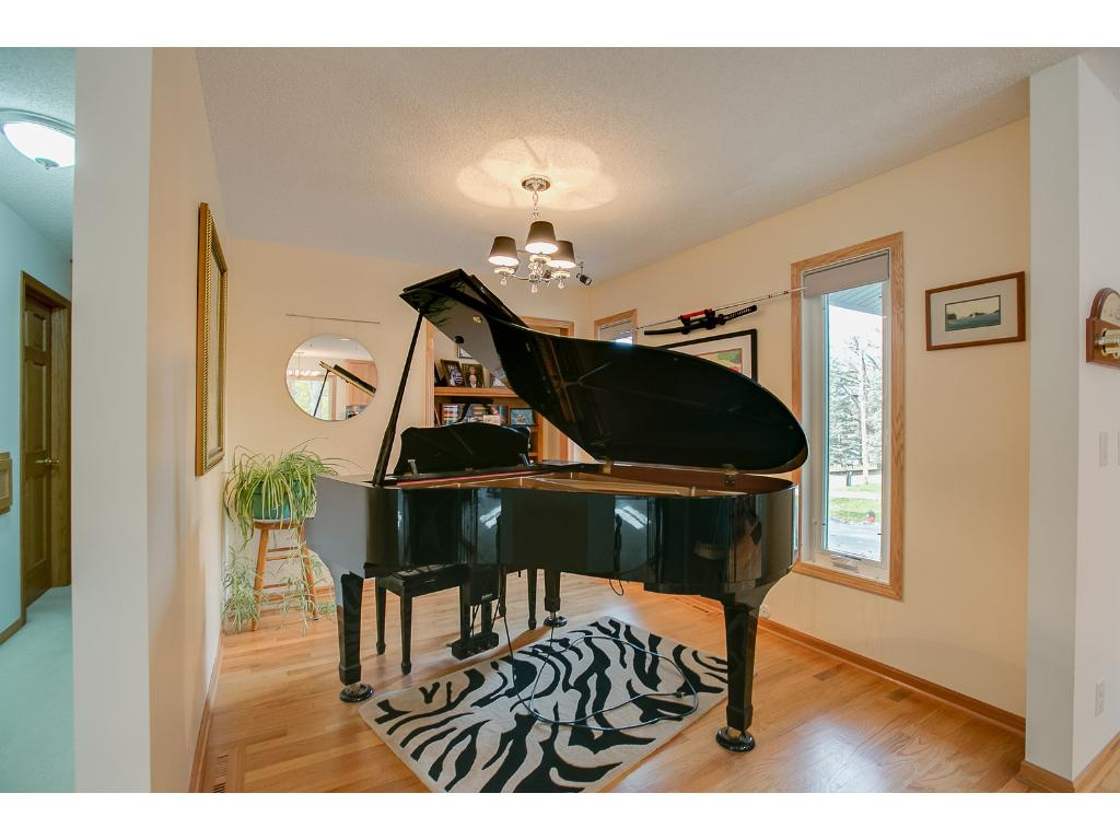 The music room is formerly the third bedroom and could be converted back, if desired.