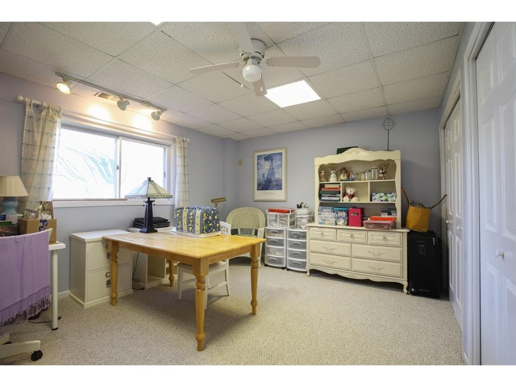 4th Bedroom in w/o basement makes a great teen room or guest room.