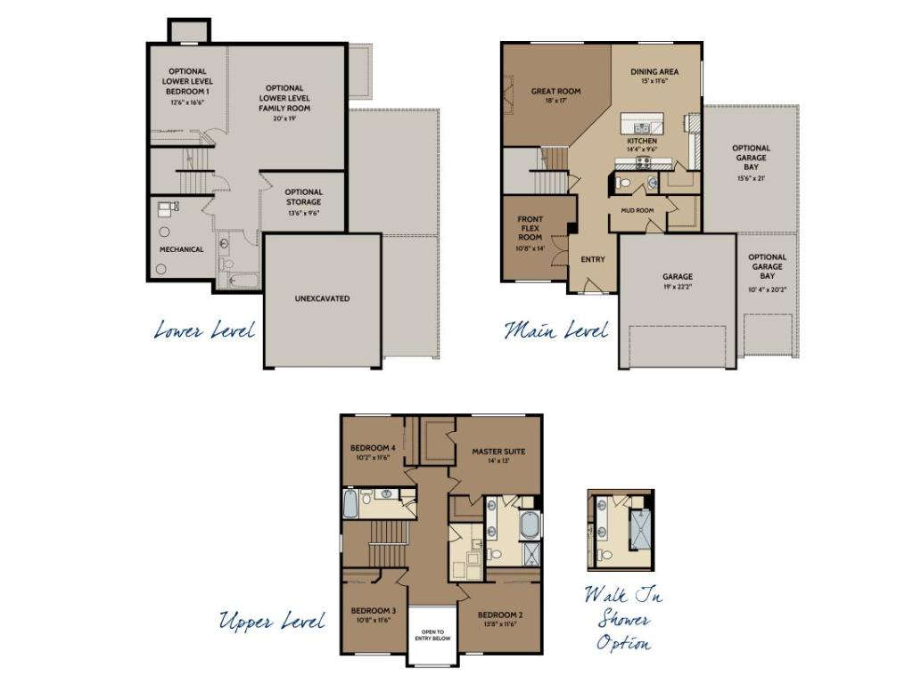 The Bayfield floor plan!