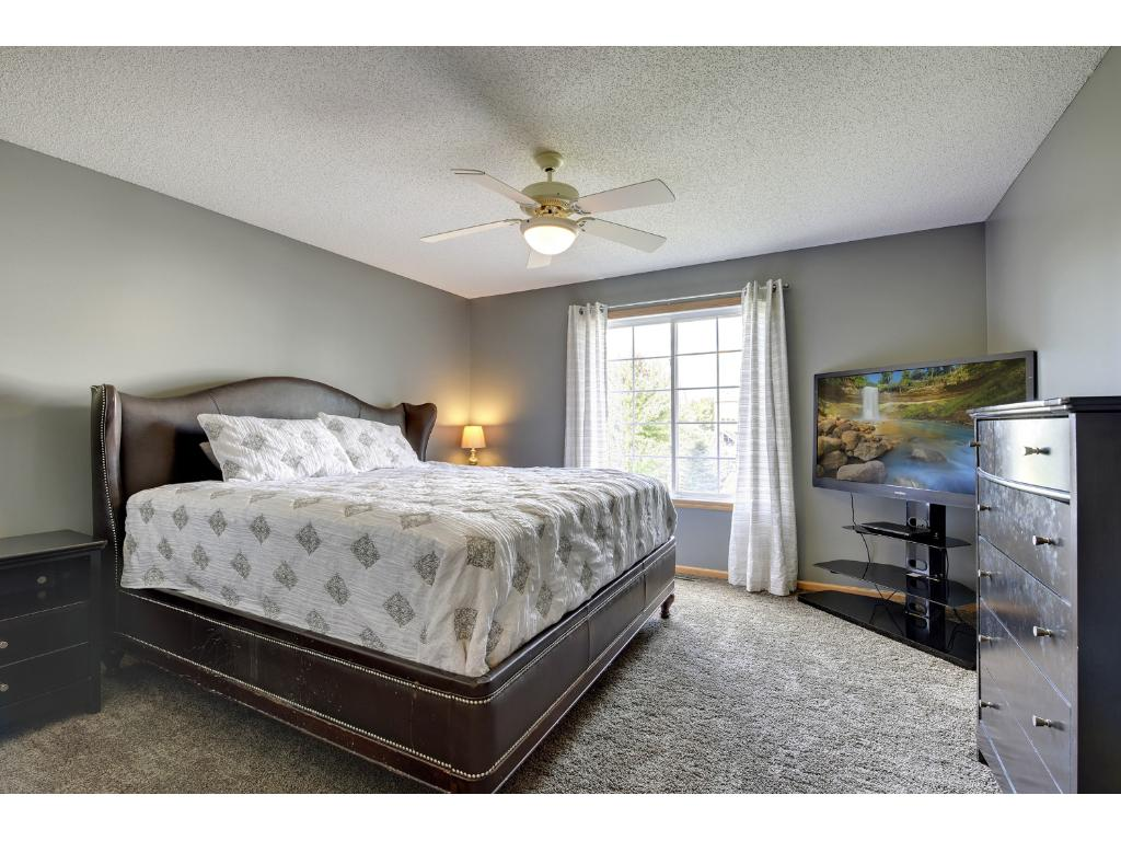 master bedroom features large windows for lots of natural light