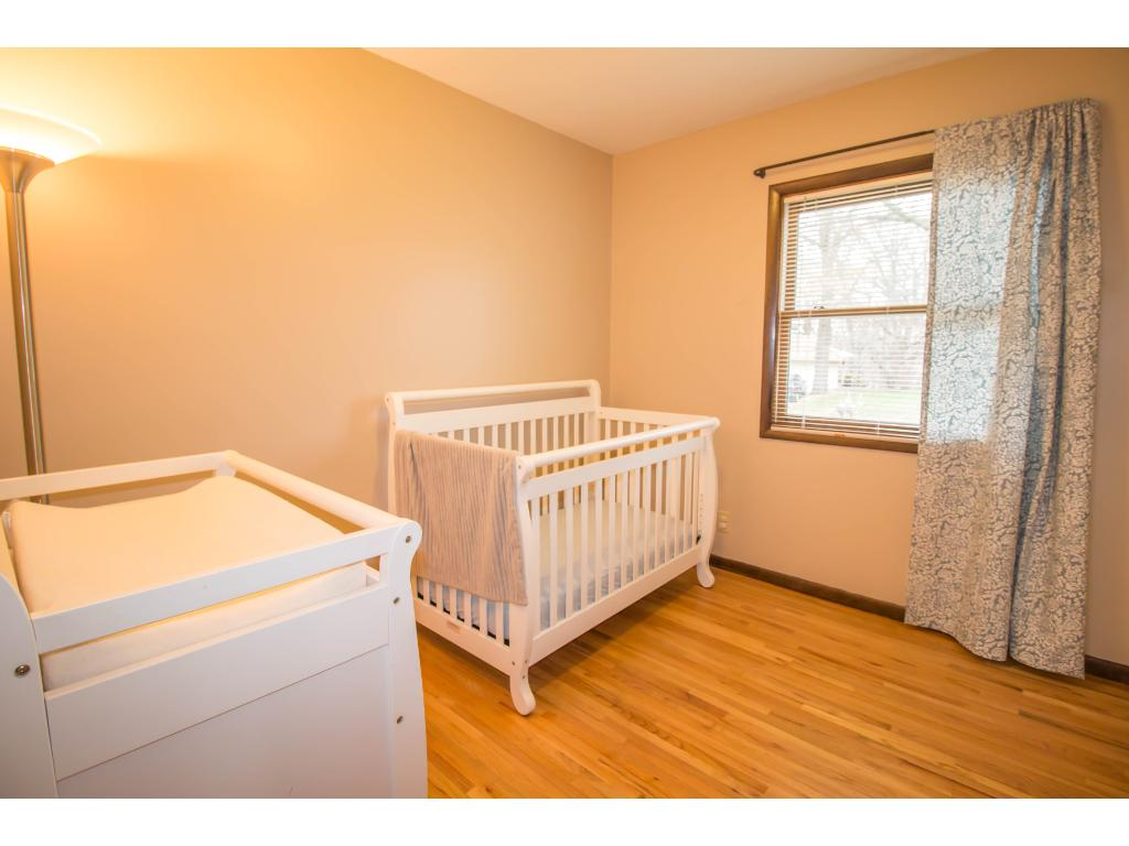 Third bedroom is currently being used as a nursery but could easily be a guest room or home office.