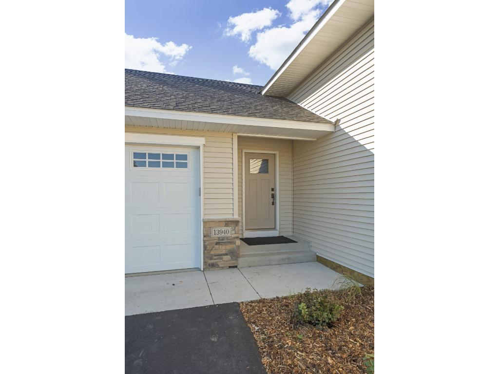 Quality built by Meadowcroft Homes, an A Maas company, featuring upgraded garage doors including lift-master openers- extra large garage with work space