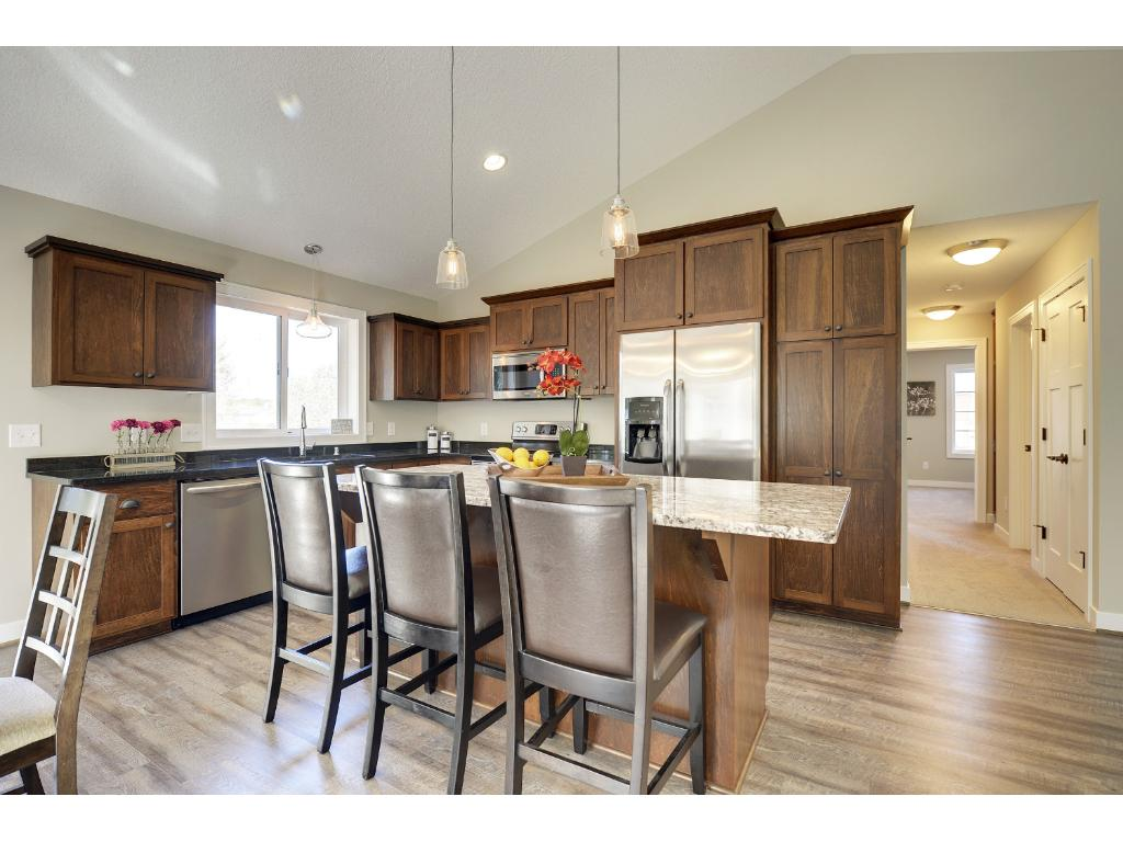 Quality built by Meadowcroft Homes, an A Maas company, featuring custom built shaker-style cabinets