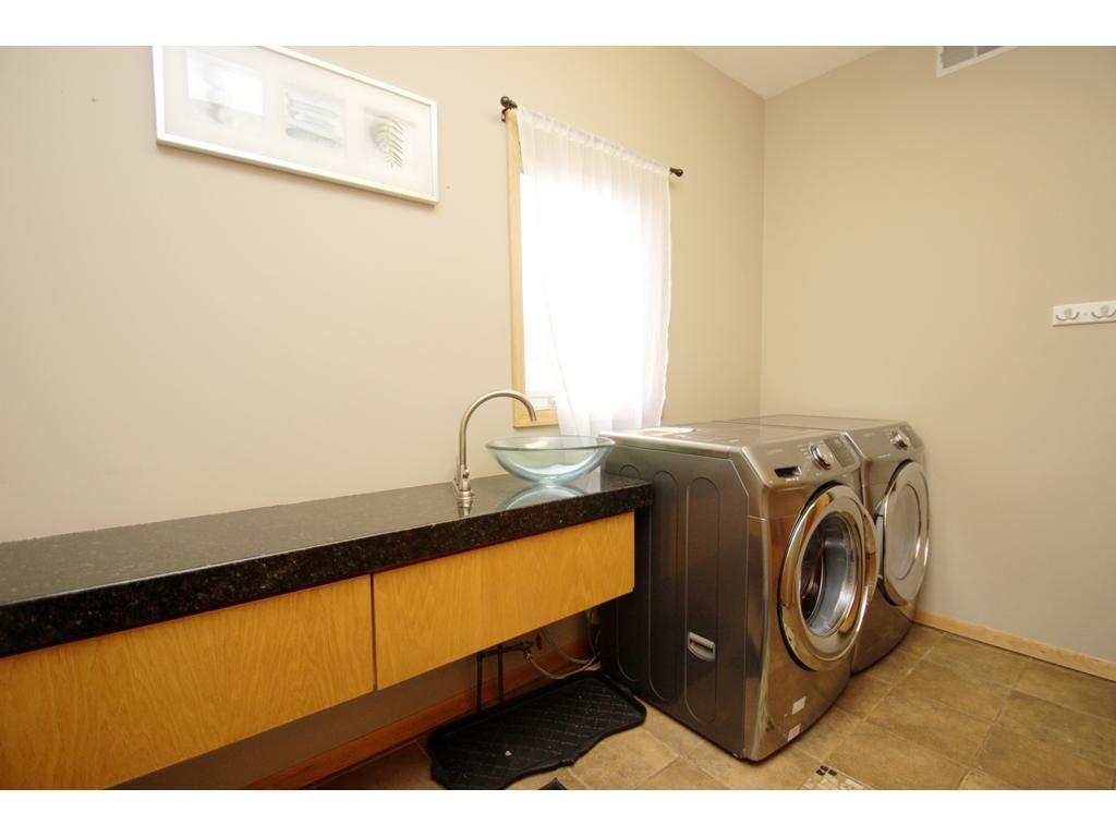 Enjoy the convenience of main level laundry!