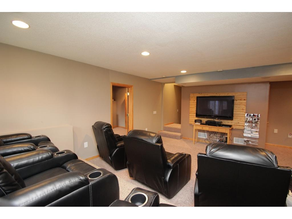 One of three bedrooms on the upper level!