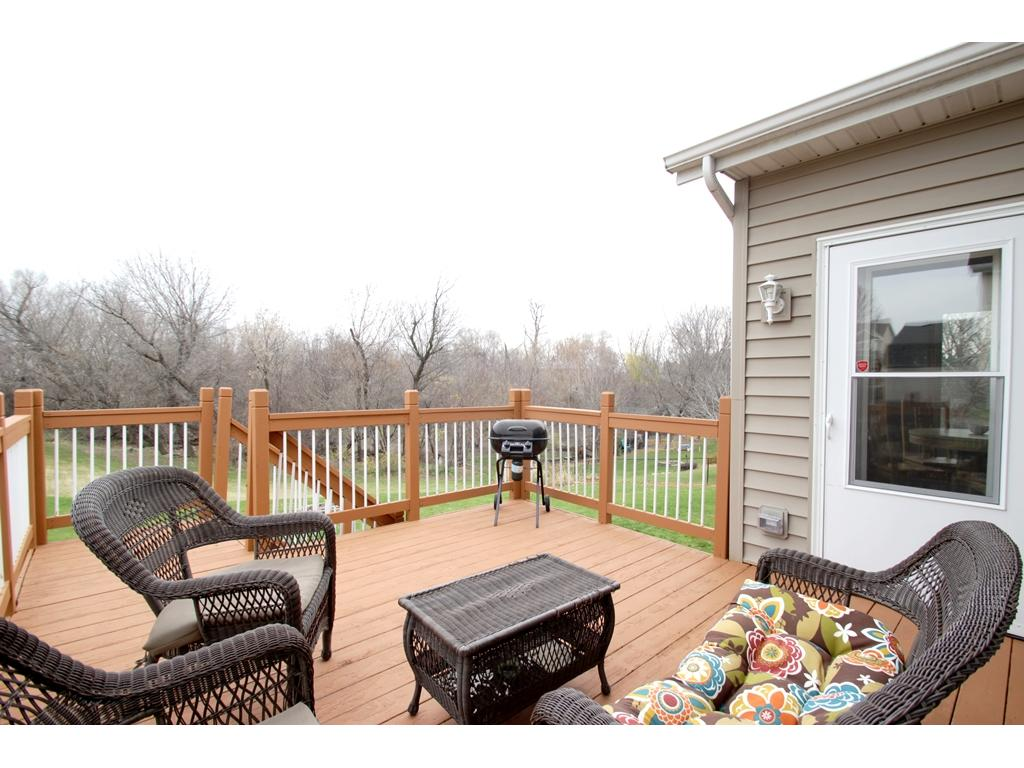 Enjoy hosting BBQ's on your new deck!