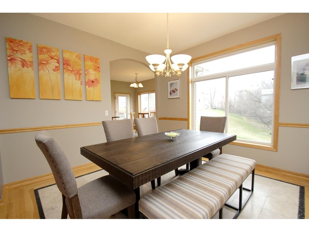 Your new home features informal AND formal dining to enjoy! Perfect place to host the holidays!