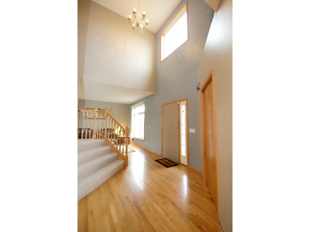 2 story ceilings in the foyer!
