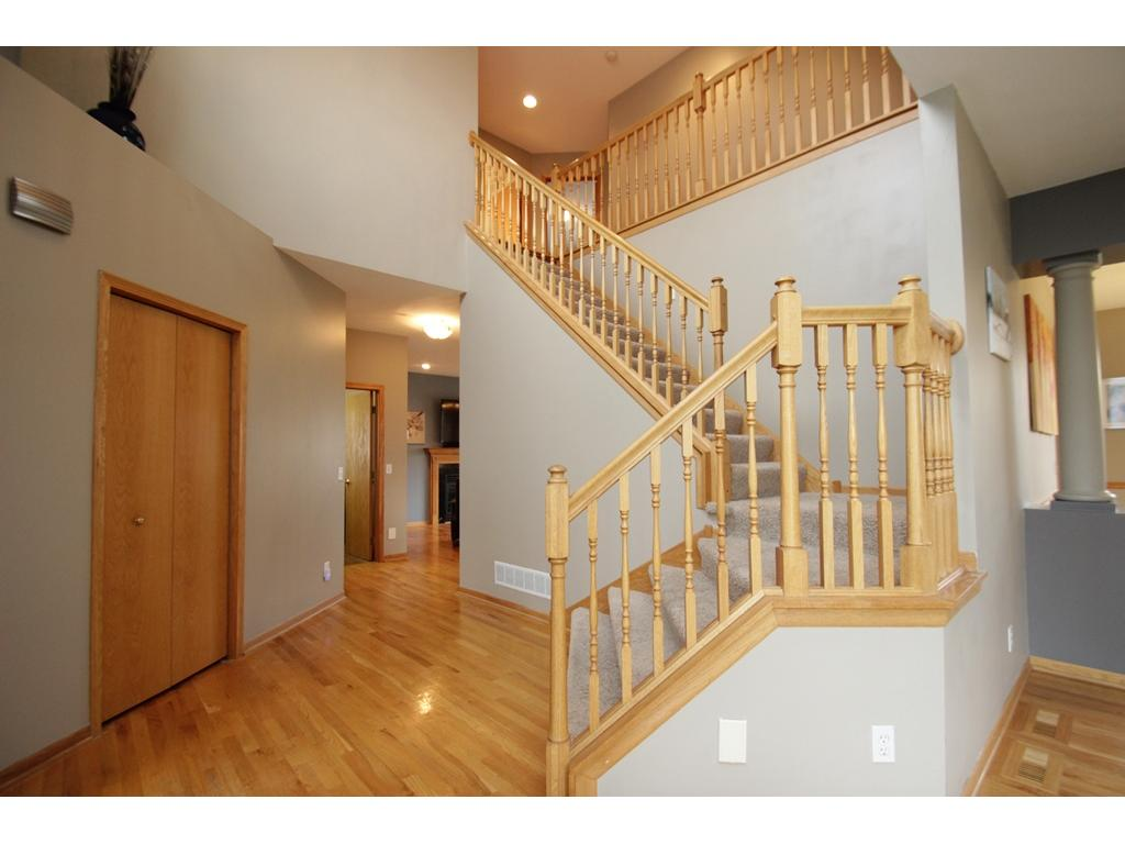 Beautiful entrance to your new home!