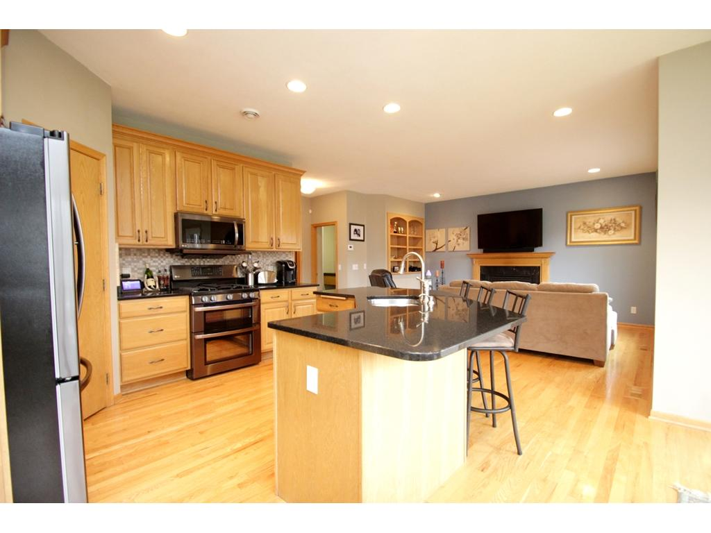 Large kitchen island! Enjoy preparing all your favorite meals in your new kitchen!