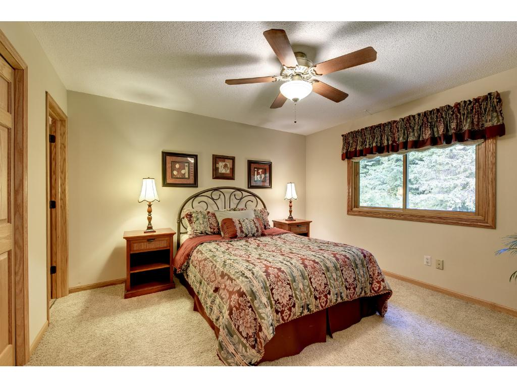 Upper level Master Bedroom with 3/4 Bath.