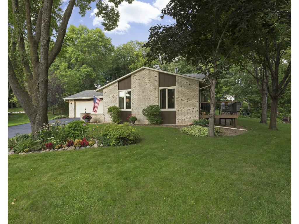 Nice curb appeal.  Enjoy your side deck right off of the Dining area to sit and enjoy both front and rear views.