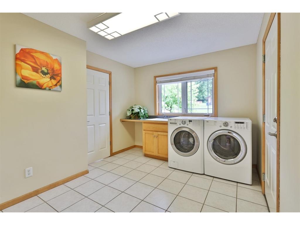 BIG main floor Laundry Room.  Very Roomy!