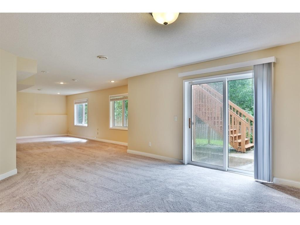 HUGE finished Lower Level area.   It's a walkout and a 4th bedroom could be added here very easily.