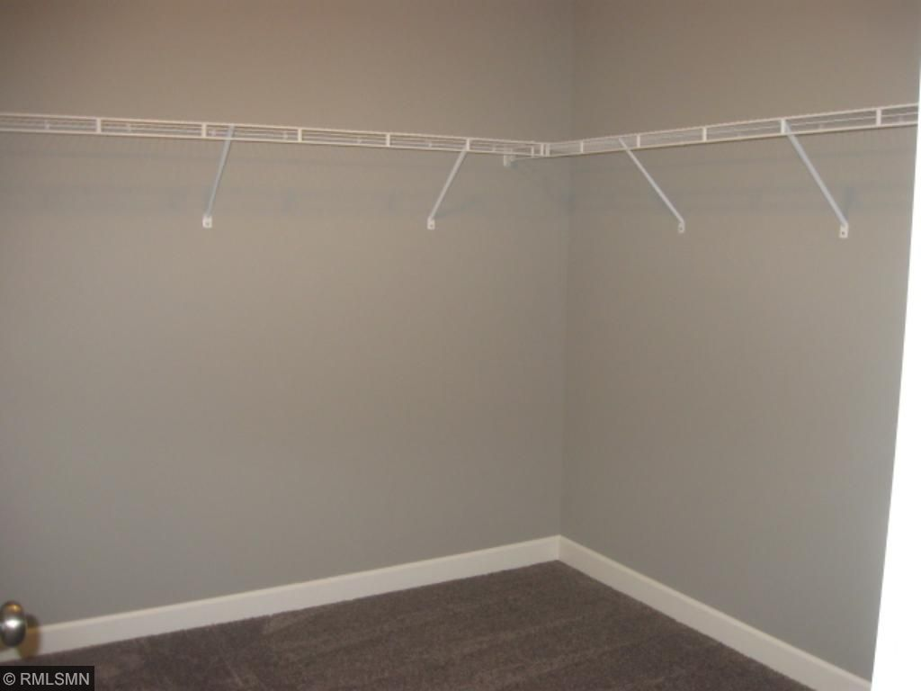 Huge walk in closet in the master bedroom.  Plenty of space for the clothes lover in the family