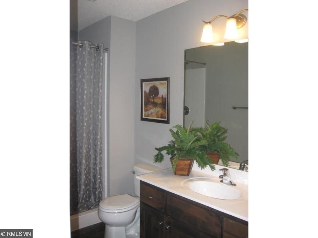 lower level includes a nice 3/4 bath