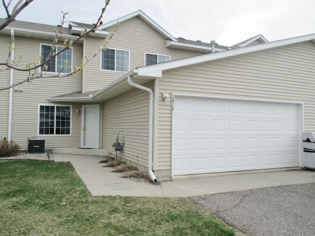 Very nice townhome with 2 car insulated garage.