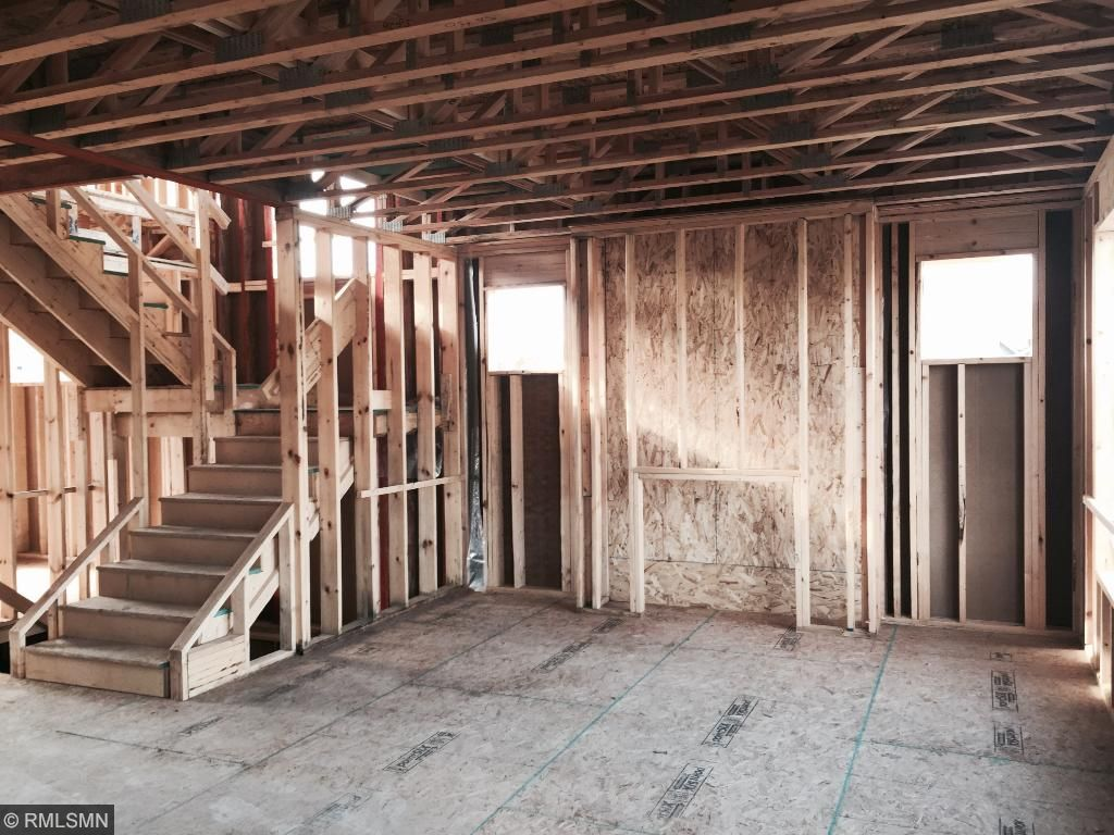 Family room will have a cozy gas fireplace.