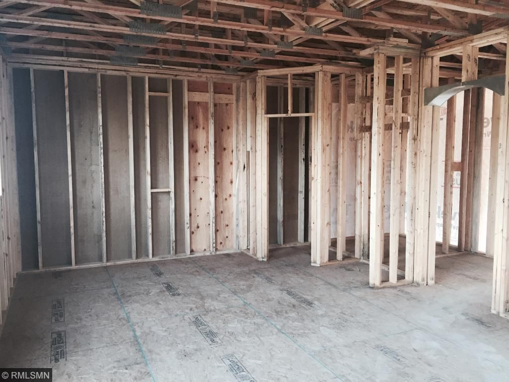 Future space of the kitchen and walk-in pantry.