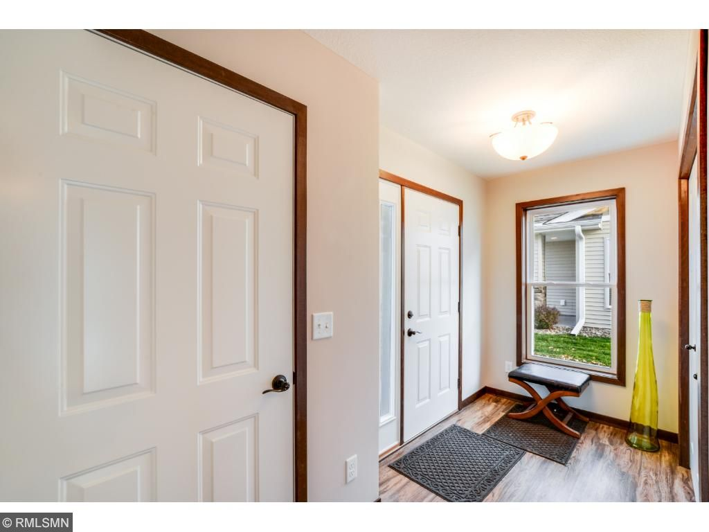 Look at the width of the hallway coming from the front and garage entrances.  Our homes are wheelchair friendly and can be customized to full handicapped accessibility with roll in showers and customized kitchens.