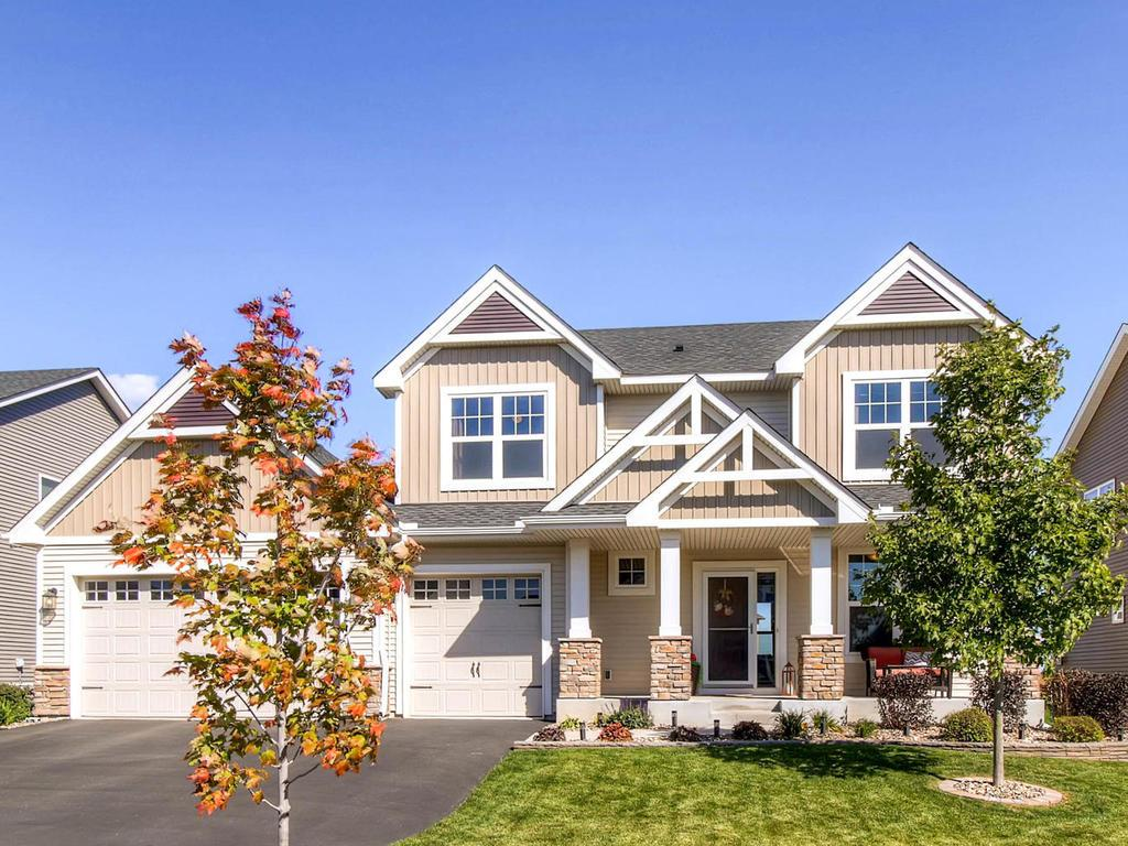 Beautiful 2 story home with large 3 car garage