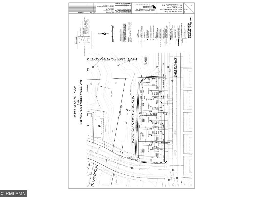 West Oaks 5th Addition Plat Map