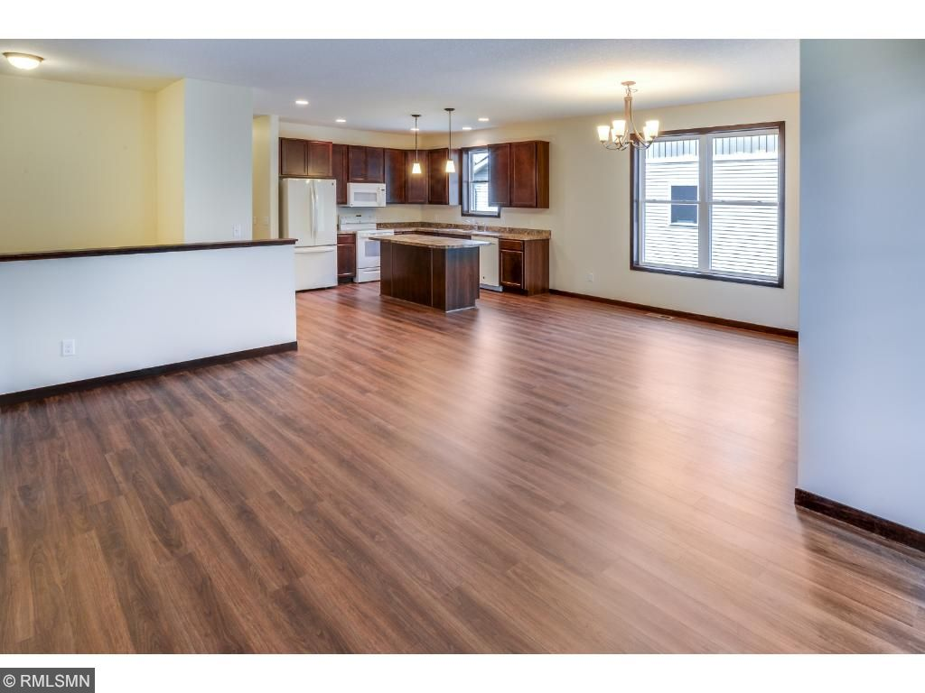 Open Living, Dining, and Kitchen is Bright and Comfortable.