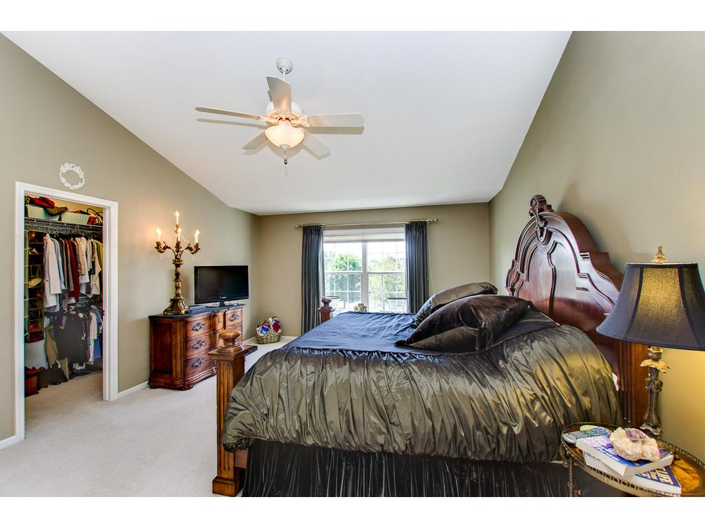 Enjoy this over-sized master suite with walk in closets and luxury bath!