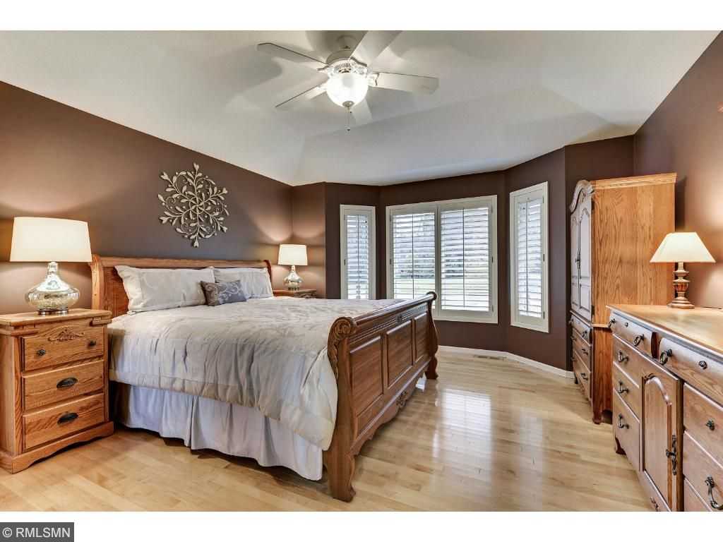 Sweet dreams in this beautiful master bedroom.