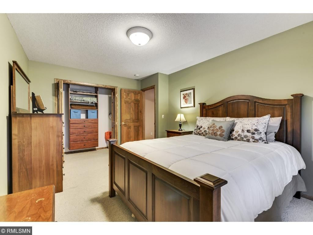 Large third bedroom with a closet you will love.