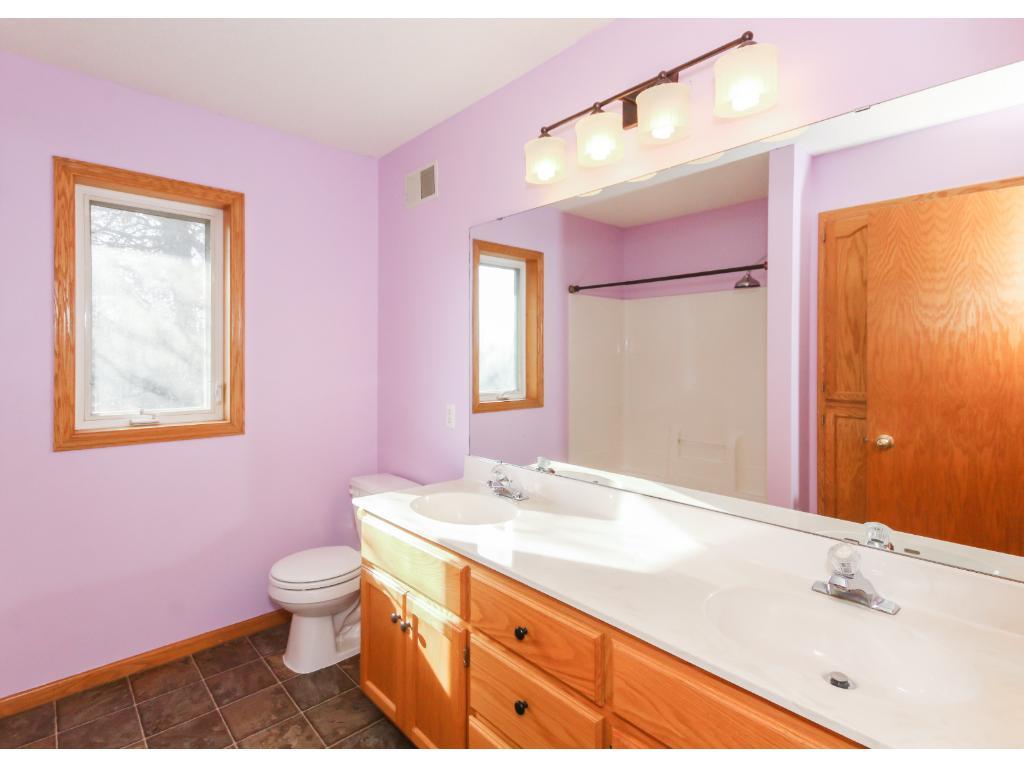Spa-like private owner's bath.