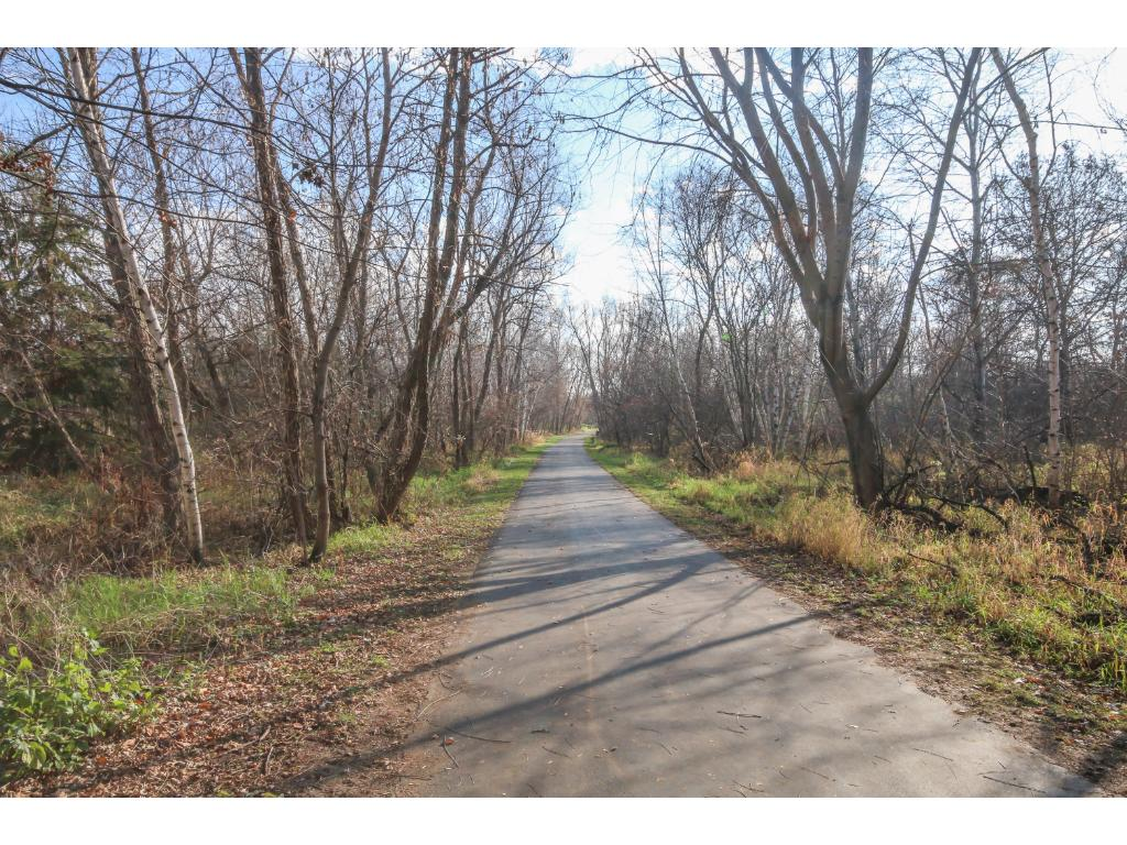 Walk, bike, and enjoy life...right out your back yard!