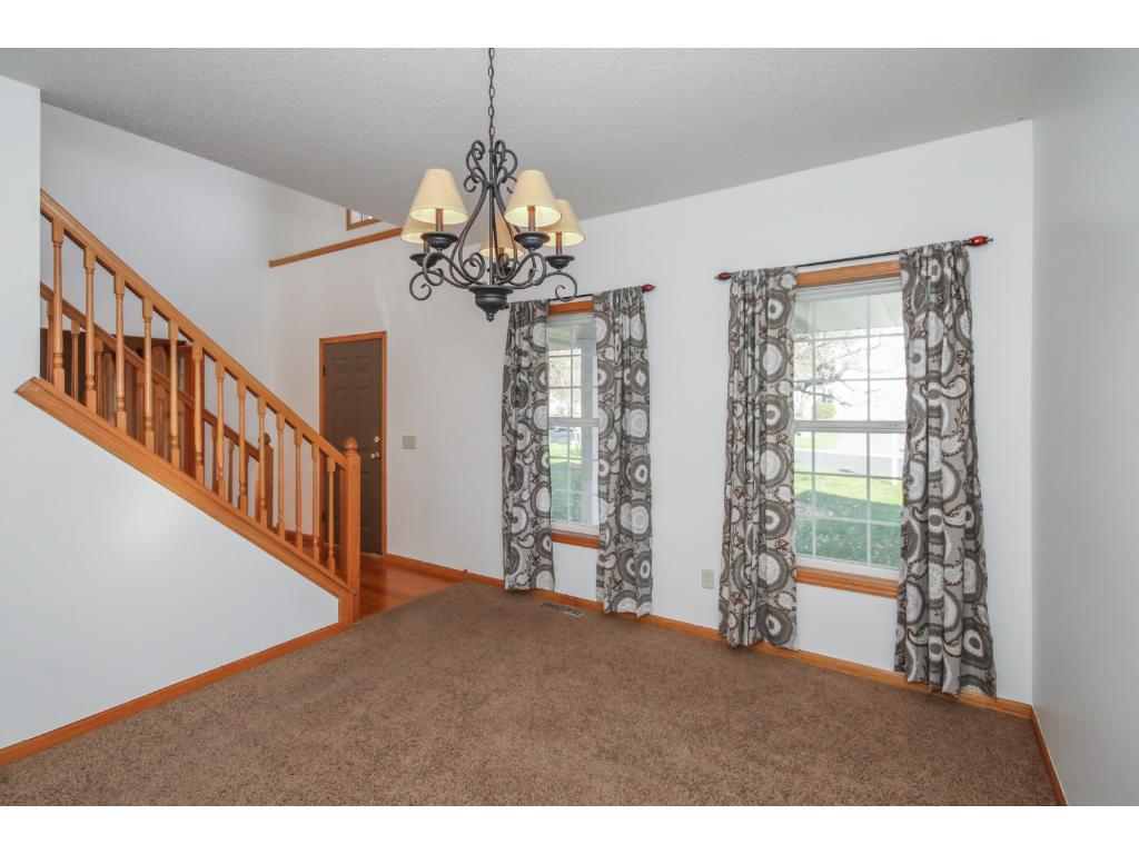 Formal dining space off foyer and adjacent to kitchen. Great for entertaining!