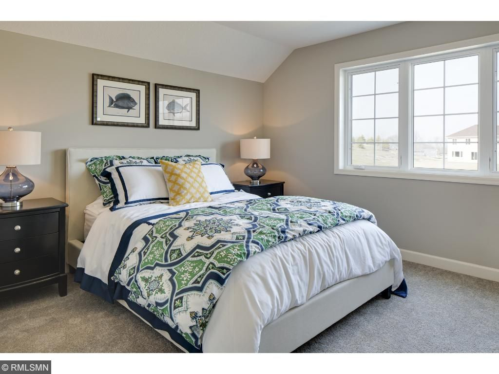 Bedroom 3; for illustrative purposes only. Photos are from our model home.