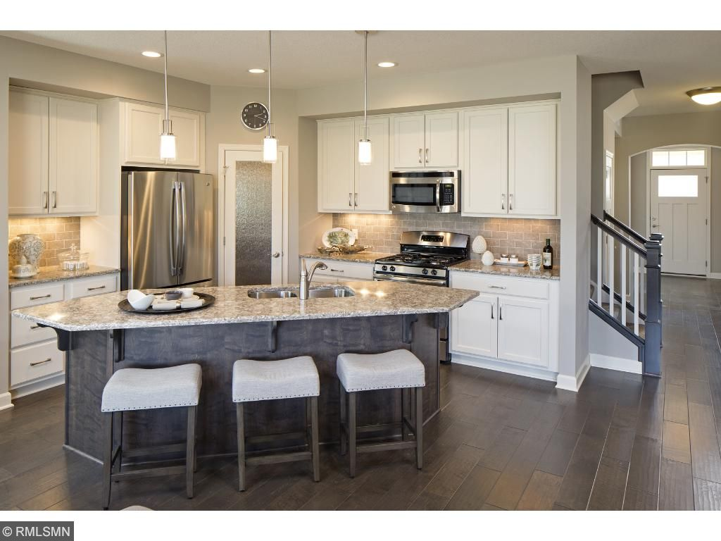 Kitchen; for illustrative purposes only. Photos are from our model home.