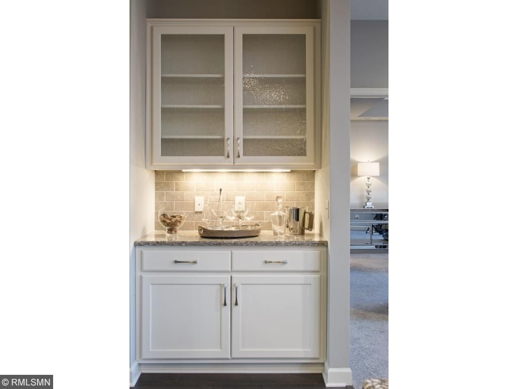 Built Ins; for illustrative purposes only. Photos are from our model home.