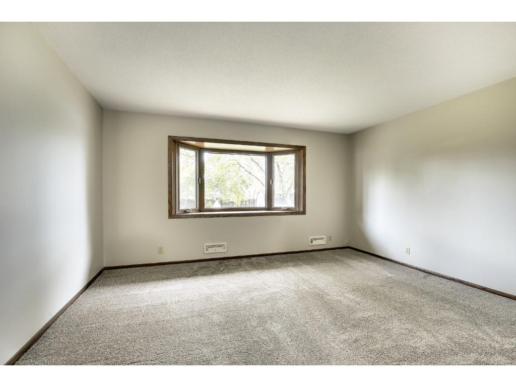 Light filled living room on main level