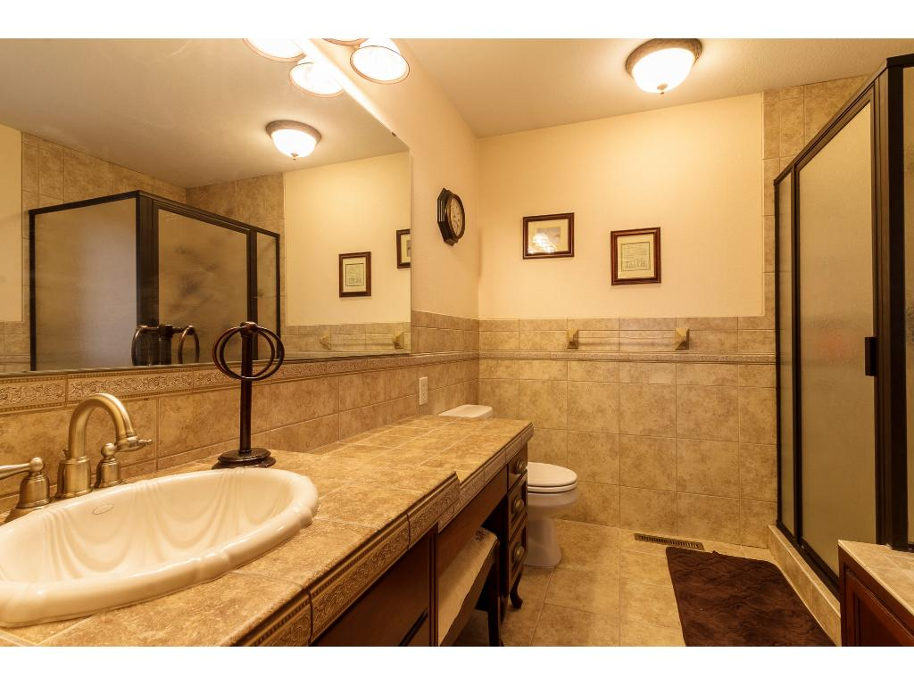 Lower level is completely finished offering a ton of space!  Spacious family room or great room for all the toys & games.  Basement also has 2 spacious bedrooms complete with egress windows & ladder.