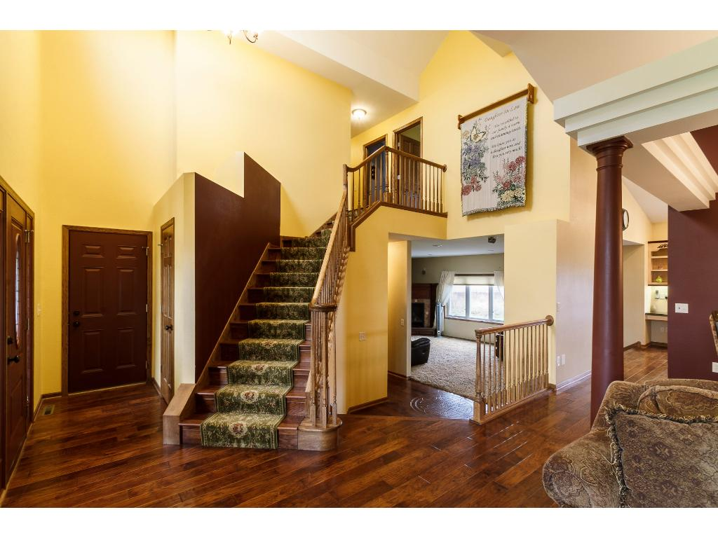 Plenty of natural sunlight shines through.  Great formal living room & dining room for all your entertaining needs.