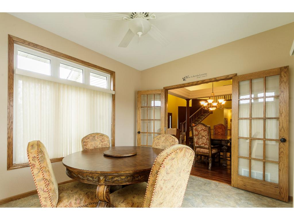 Great open floor plan with vaulted ceilings showing off the grand feel of this home.