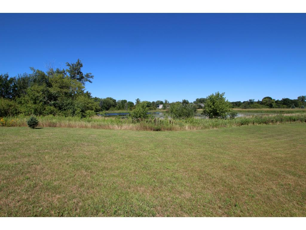 Enjoy the nice view of the pond at the back of the property.