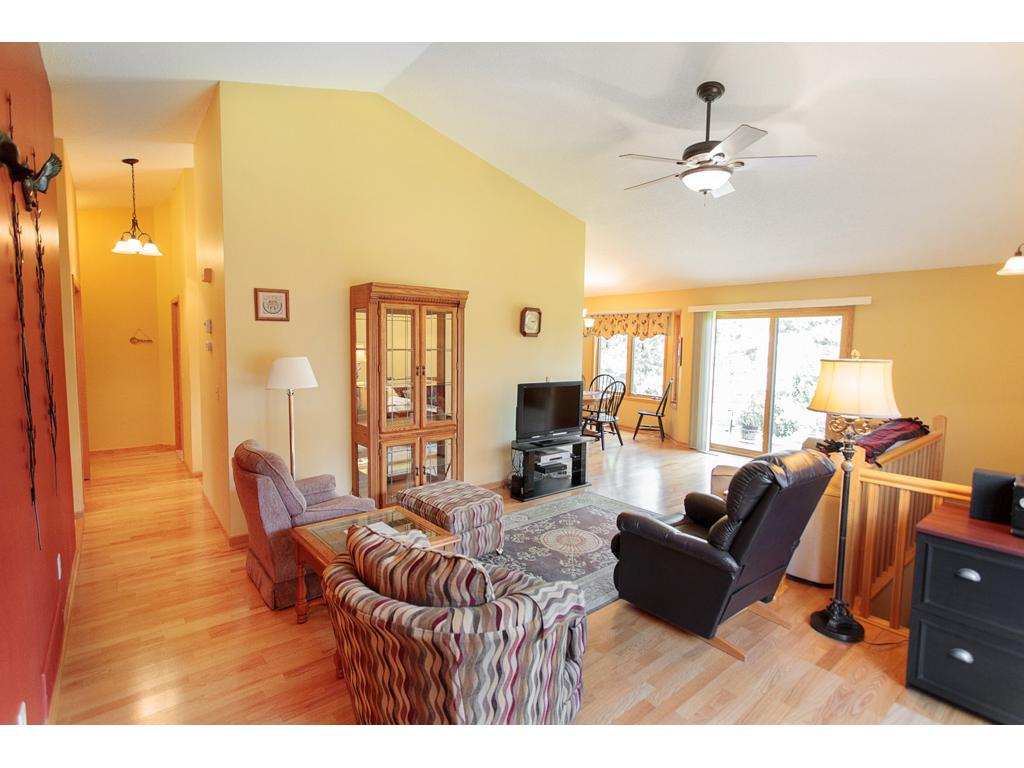 Beautiful hardwood floors throughout the living & dining rooms.