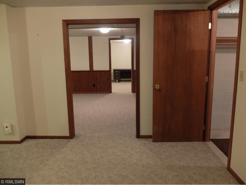Lower Level has many rooms; Rustic Family Room, Rec Room Area, Office & Potential 3rd Bedroom Option & Cedar Closet